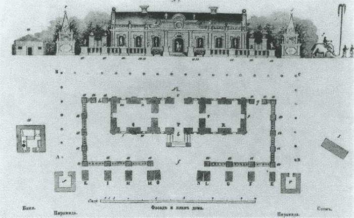 План Ледяного дома Анны Иоанновны. история, россия, царица