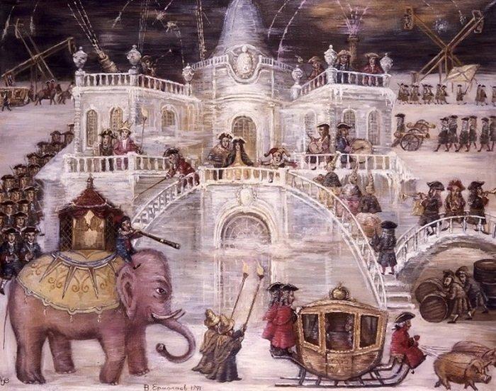 Ледяной дворец Анны Иоанновны. история, россия, царица
