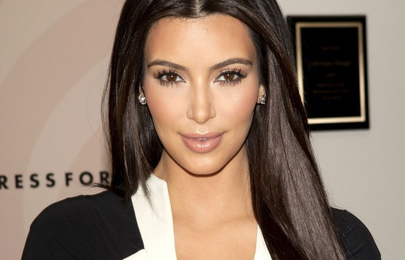 6. Ким Кардашьян голливуд, знаменитости, накладные волосы, парик, шоу бизнес