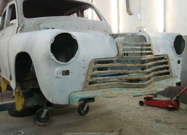 """Вторая жизнь кабриолета ГАЗ-20 """"Победа"""" авто, газ-20, история, победа, реставрация"""