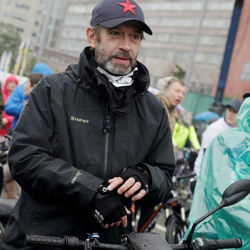 Ударим велопробегом по непогоде: В Москве прошел ежегодный велопарад вело, велопарад, машков, москва, пробег, садовое