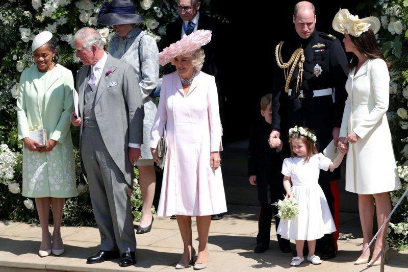Первая фотография Дории в качестве матери принцессы  Megan, великобритания, гарри, знаменитости, принцесса, свадьба, фотография