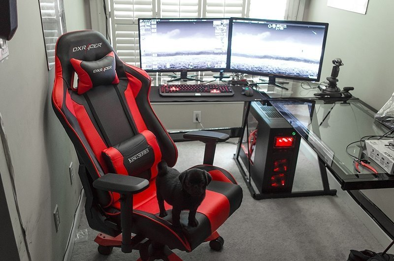 Комната мечты: 25 очень крутых игровых мест игровые компьютеры, игры, компьютеры