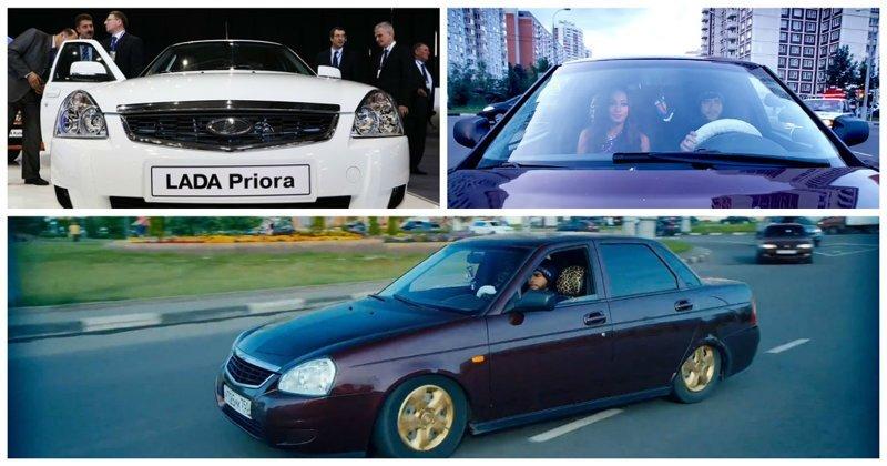 """Lada Priora - всё: """"АвтоВАЗ"""" снимает модель с конвейера granta, kalina, ynews, автоваз, автопром, лада приора, россия"""
