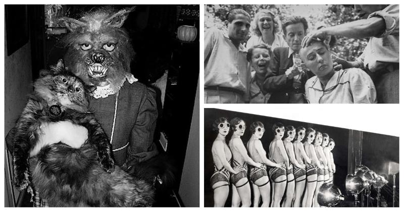 25 странных фотографий прошлого, требующих объяснения век, мир, прошлое, снимок, событие, странность, фотография