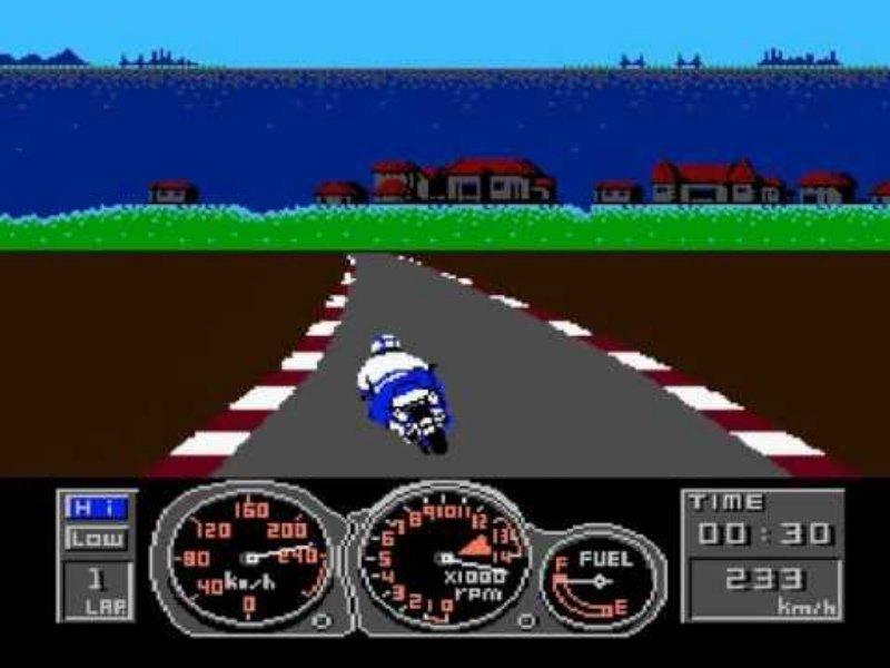Top Rider dendy, nes, детство, игры, ностальгия