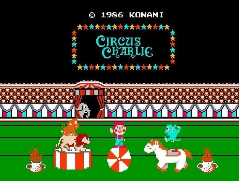 Circus Charlie dendy, nes, детство, игры, ностальгия