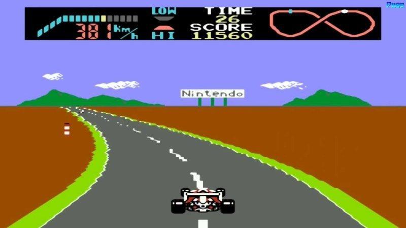F1 Race dendy, nes, детство, игры, ностальгия