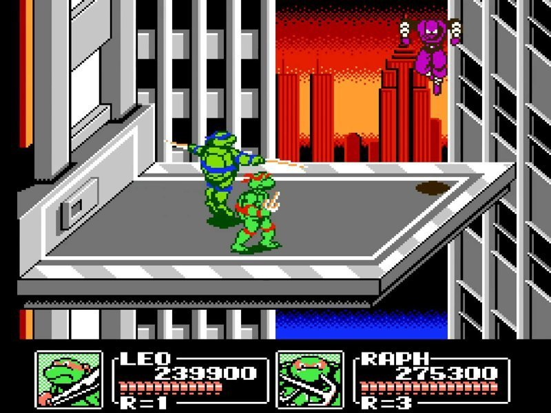 Teenage Mutant Ninja Turtles III — The Manhattan Project dendy, nes, детство, игры, ностальгия
