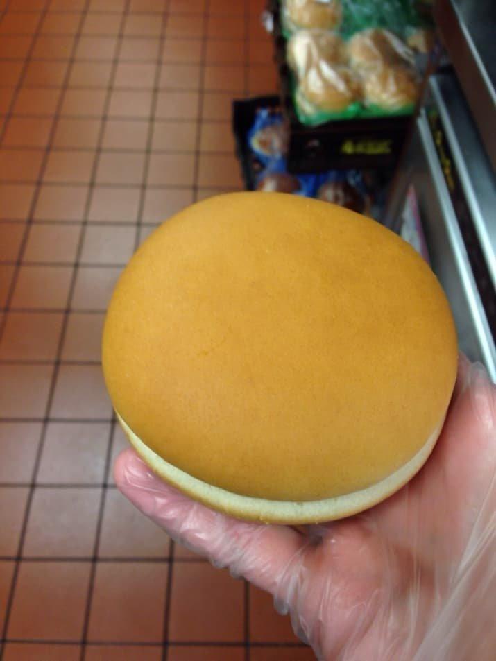 Идеальная булочка для гамбургера аппетитно, блюда, вкусно, как снимать еду, продукты, слюнки текут, фото, фотографии еды