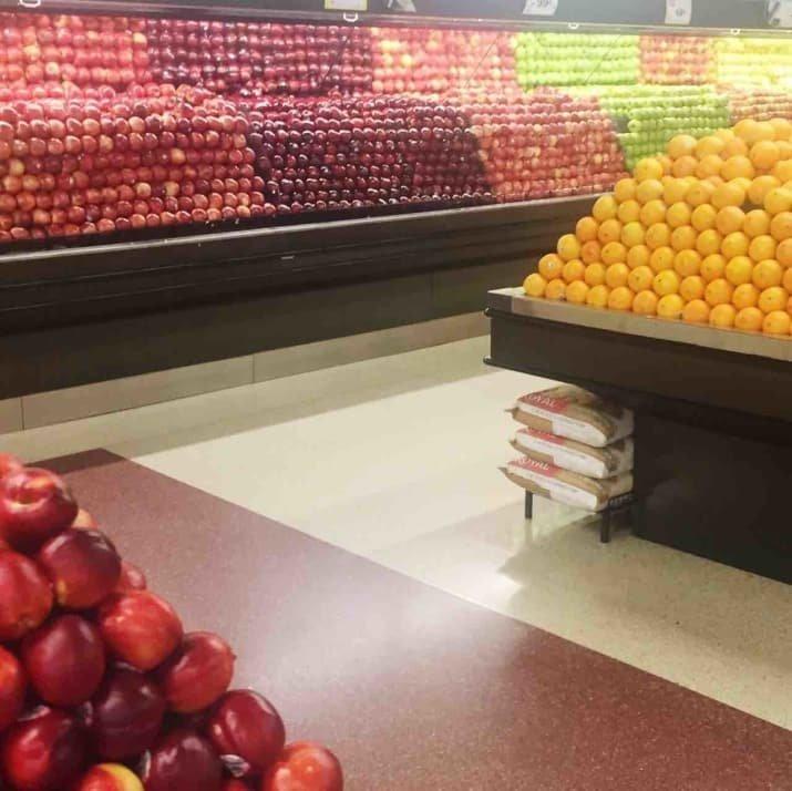 Вот как надо продавать фрукты! аппетитно, блюда, вкусно, как снимать еду, продукты, слюнки текут, фото, фотографии еды