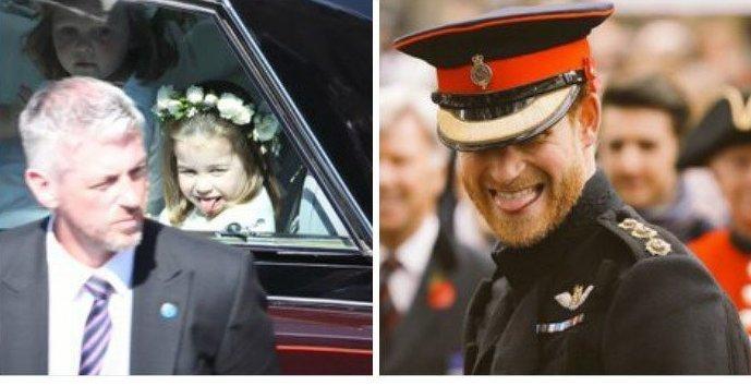 Принц Гарри - мастер работать языком! Меган Маркл, забавно, королевская свадьба, приколы, принц гарри, свадебный юмор, смешно, юмор
