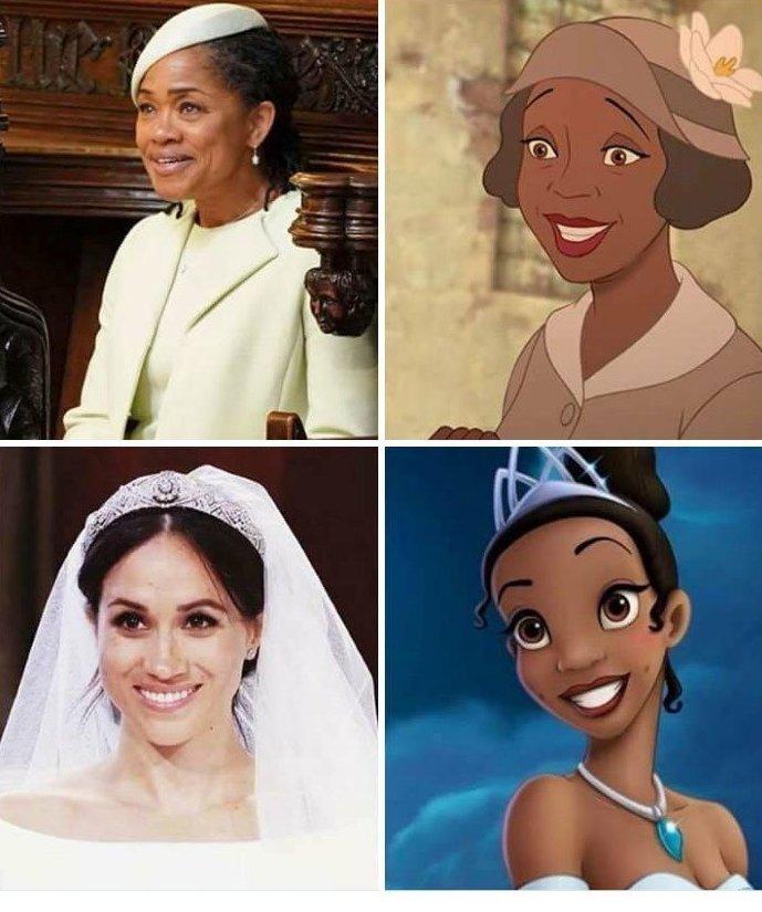 Вот так сказки становятся явью! Меган Маркл, забавно, королевская свадьба, приколы, принц гарри, свадебный юмор, смешно, юмор