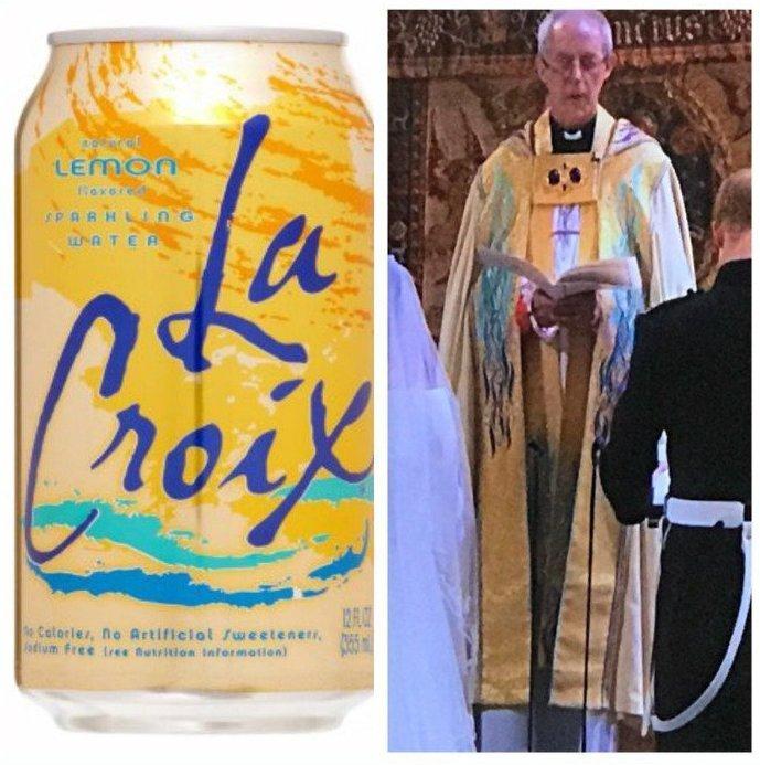 Н-да, странный костюм у епископа... Меган Маркл, забавно, королевская свадьба, приколы, принц гарри, свадебный юмор, смешно, юмор