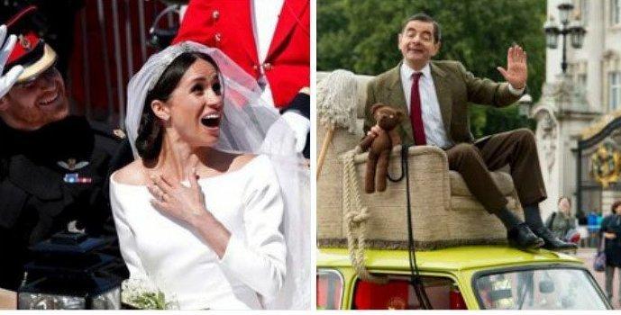 Ты погоди, не спеши! Меган Маркл, забавно, королевская свадьба, приколы, принц гарри, свадебный юмор, смешно, юмор
