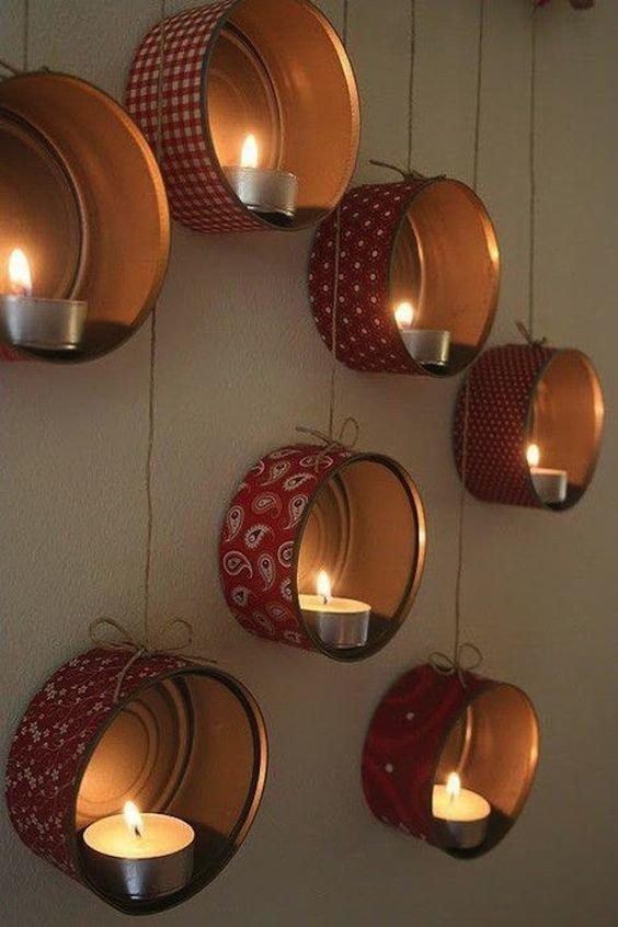 4. Основная тема - светильники  идеи, из банок, интересно, поделки из банок, своими руками