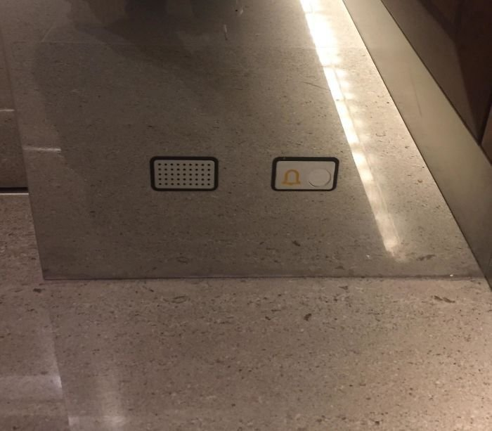 8. В этом лифте есть кнопка экстренной помощи, если вы упали и не можете встать в мире, дизайн, дизайнеры, красота, креатив, лифтк, фантази