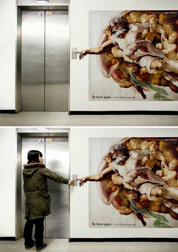 4. Лифт, позволяющий прикоснуться к классике в мире, дизайн, дизайнеры, красота, креатив, лифтк, фантази