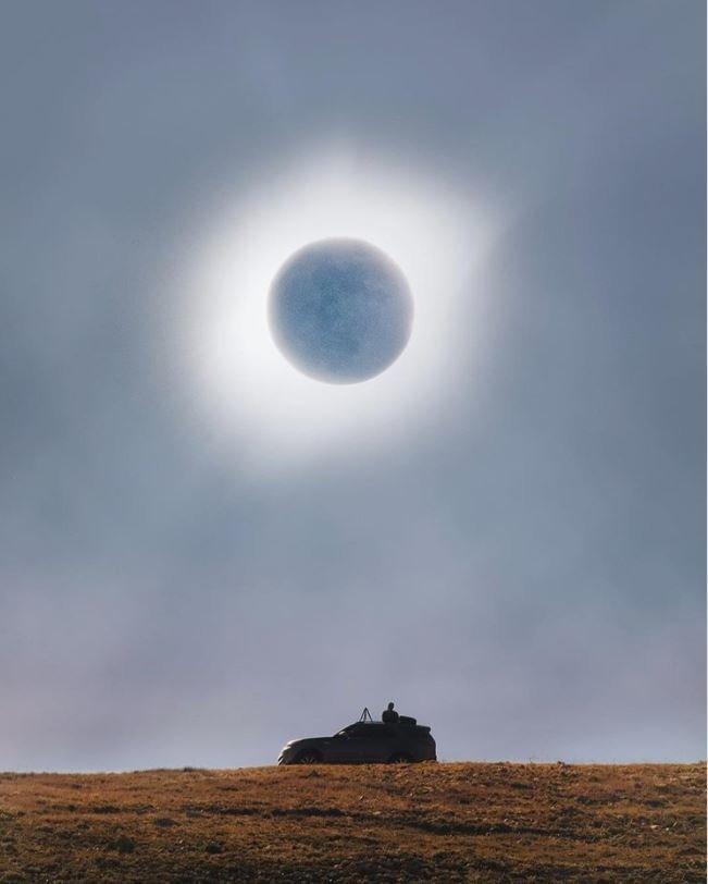 16. Солнечное затмение без фотошопа, вы не поверите, места, природа, реальность, удивительные, чудеса
