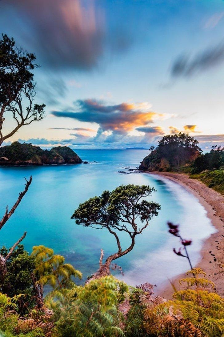 12. Настоящий рай в Новой Зеландии без фотошопа, вы не поверите, места, природа, реальность, удивительные, чудеса