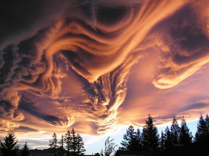 9. Да, природа - гениальный художник без фотошопа, вы не поверите, места, природа, реальность, удивительные, чудеса