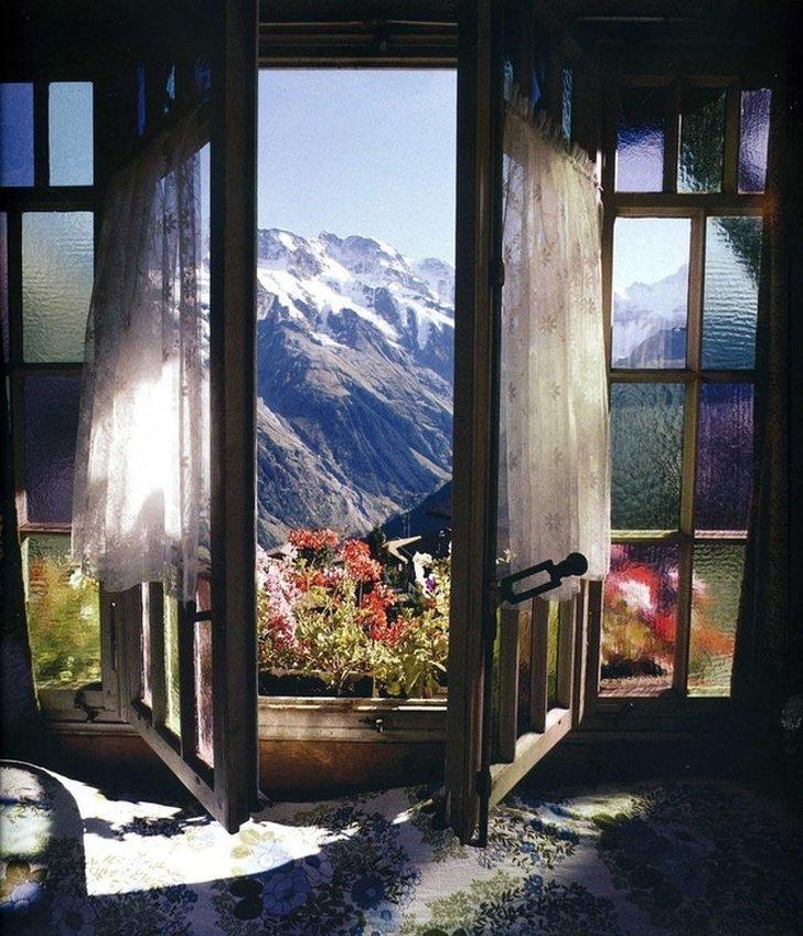 """21. """"Изумительный вид из окна в доме моих друзей"""", Тоскана, Италия без фотошопа, вы не поверите, места, природа, реальность, удивительные, чудеса"""