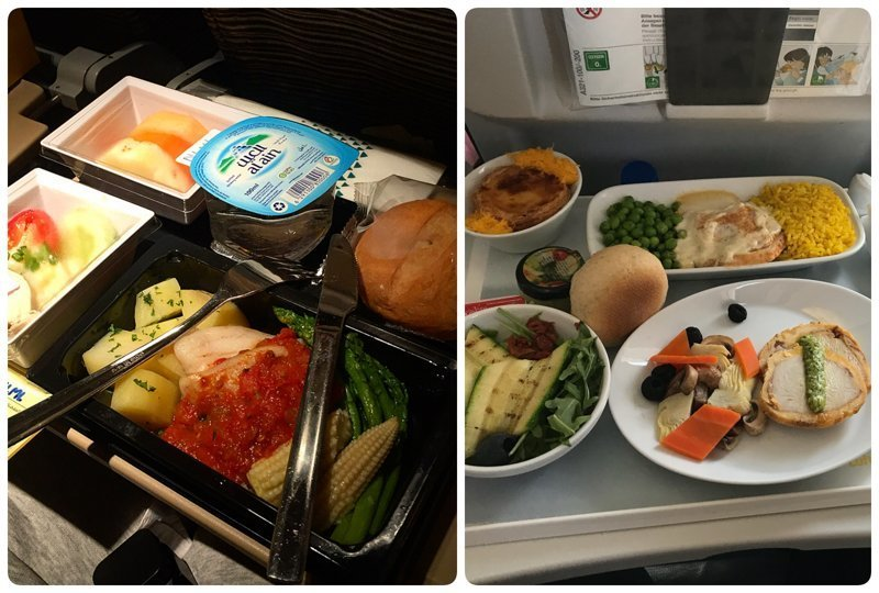 Как выглядит питание на борту самолетов разных авиакомпаний авиакомпании, еда на борту, отпуск, питание в самолете, поездка, рейс, фото