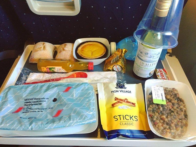"13. ""Air France"" авиакомпании, еда на борту, отпуск, питание в самолете, поездка, рейс, фото"