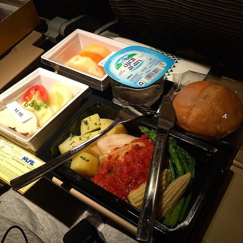 """8. Пользователи практически единогласно говорят, что еда от компании ОАЭ """"Etihad Airways"""" вкуснее всего авиакомпании, еда на борту, отпуск, питание в самолете, поездка, рейс, фото"""