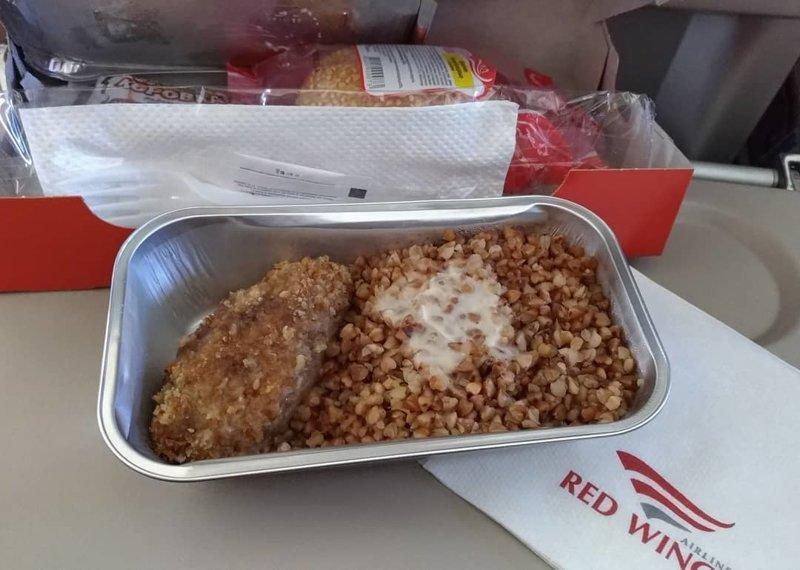 """7. Еда от """"Red Wings"""" авиакомпании, еда на борту, отпуск, питание в самолете, поездка, рейс, фото"""