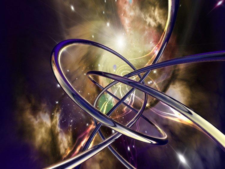 12. Теория струн вселенная, космос, наука, ученые