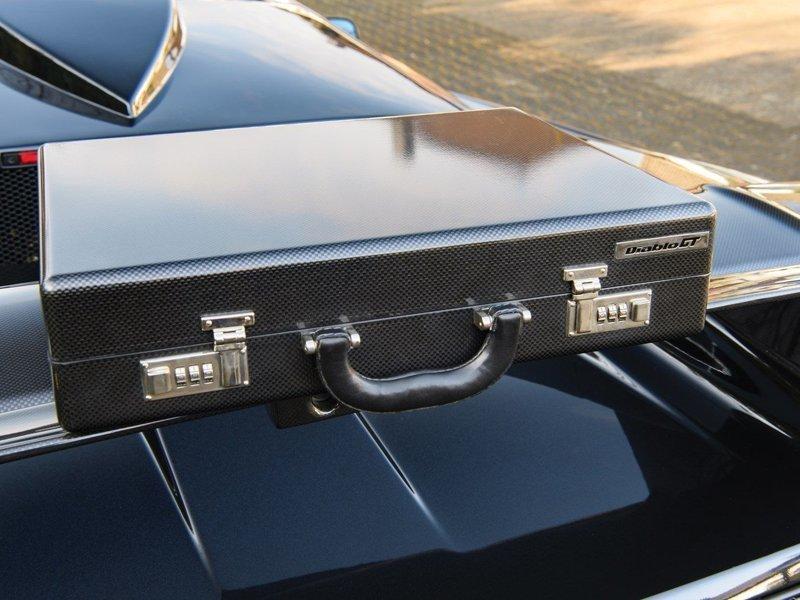 Lamborghini Diablo GT 1999 года. Суперкар с чемоданом diablo, lamborghini, lamborghinidiablo, авто, автоаукцион, автомобили, спорткар, суперкар