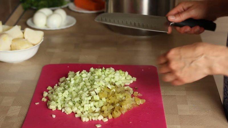 НАРЕЗКА ОВОЩЕЙ IrinaCooking, видео рецепт, еда, кулинария, окрошка, рецепт, холодный суп