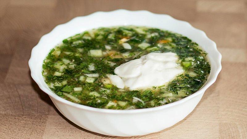 ОКРОШКА С МЯСОМ НА КВАСЕ IrinaCooking, видео рецепт, еда, кулинария, окрошка, рецепт, холодный суп