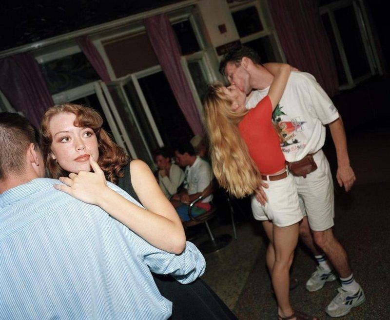 Ялта 90-х годов на снимках Мартина Парра крым, россия, ялта