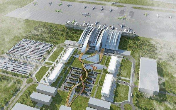 Бонус. Аэропорт будущего в Ростове-на-Дону. Россия аэропорты, интересно, фото