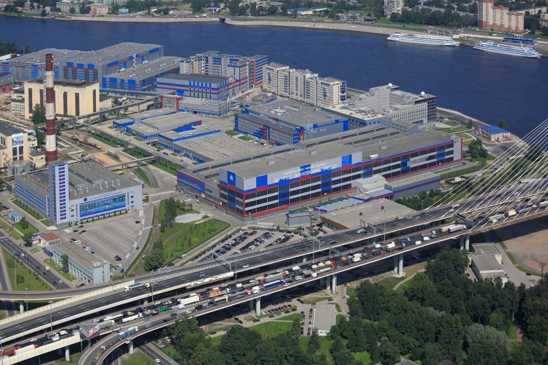 Санкт-Петербург. Северо-Западный региональный центр Концерна ВКО «Алмаз − Антей»  С-500, пво, прометей