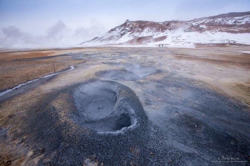 Хверир (Hverir) - долина гейзеров исландия, красиво, красивый вид, природа, путешествия, туризм, фото, фотограф