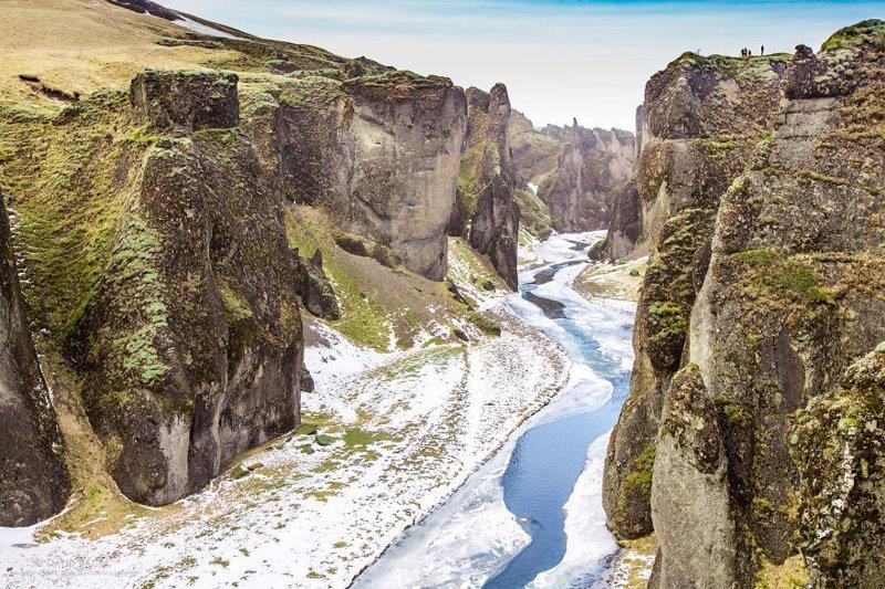 Каньон Фьядрарглйуфур (Fjaðrárgljúfur) исландия, красиво, красивый вид, природа, путешествия, туризм, фото, фотограф