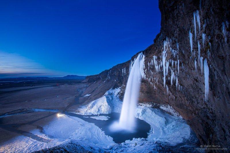 Водопад Сельяландсфосс (Seljalandsfoss) исландия, красиво, красивый вид, природа, путешествия, туризм, фото, фотограф