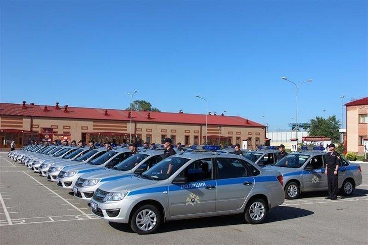 Росгвардии Краснодарского края переданы 25 патрульных автомобилей Хорошие, добрые, новости, россия, фоторепортаж