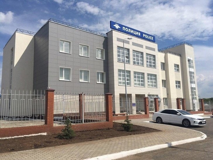 У стадиона «Самара Арена» открыт комплекс зданий для сотрудников МВД Хорошие, добрые, новости, россия, фоторепортаж