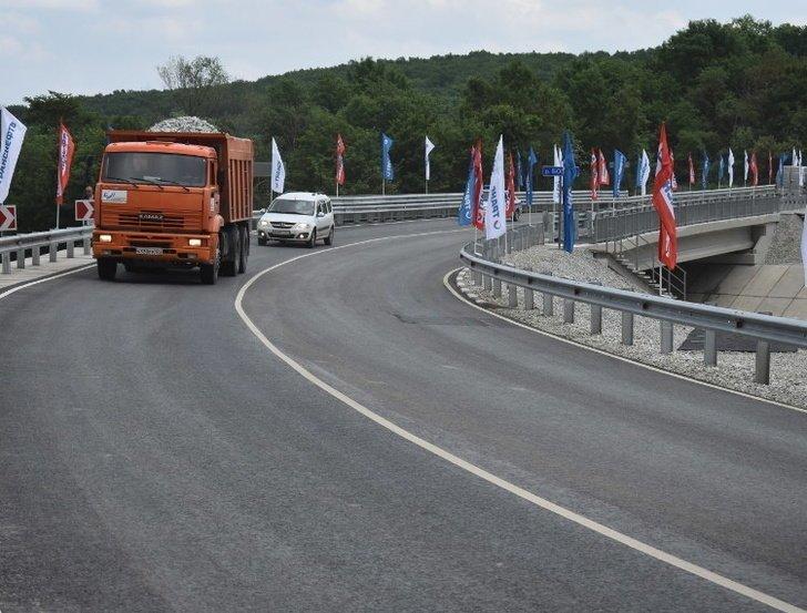Мост через реку Богого открыт в Краснодарском крае Хорошие, добрые, новости, россия, фоторепортаж