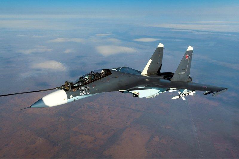 Россия и Казахстан подписали контракт на поставку партии истребителей Су-30СМ Хорошие, добрые, новости, россия, фоторепортаж