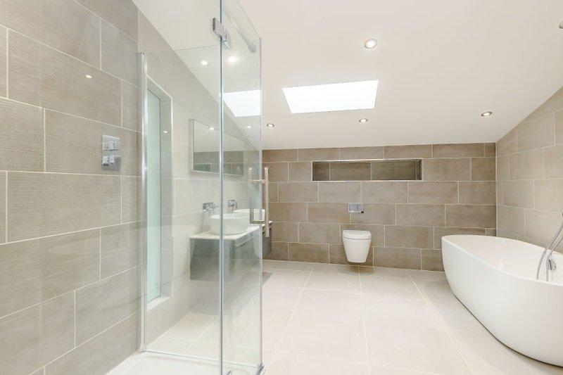 Пять ванных комнат дизайн, до и после, дом, жилье, переделка, ремонт, трансформация