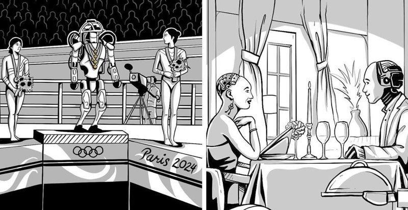 20 сильных комиксов о будущем нашей планеты, в котором не всё так оптимистично, как хотелось бы будущее, в мире, комиксы, люди, планета, рисунки. правда жизни