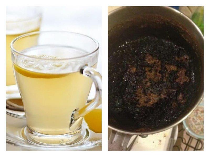 Да что там ваши кексы! Специалисты утверждают: при должном старании можно сжечь даже чай! забавно, кулинария, не шмогла, неудачный шедевр, ошибка повара, продукты, смешно, юмор