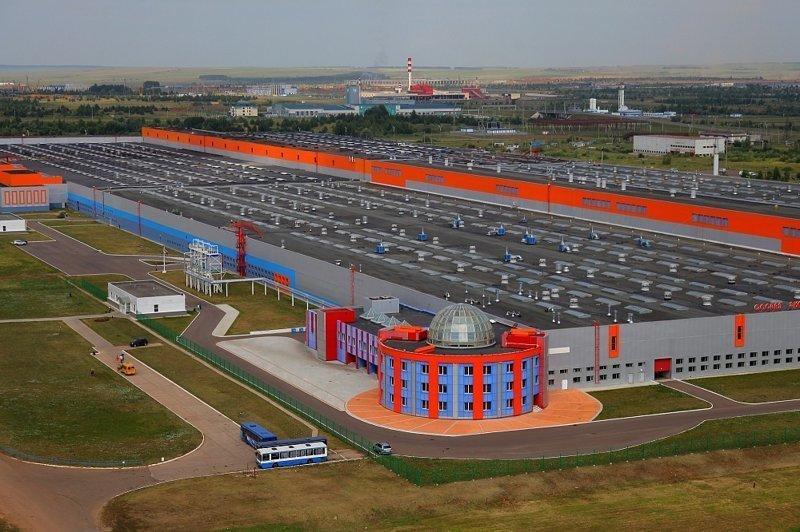Сейчас строится в России. Пост номер 27. Просто шикарный проект - Алабуга Алабуга, Особая экономическая зона, фоторепортаж