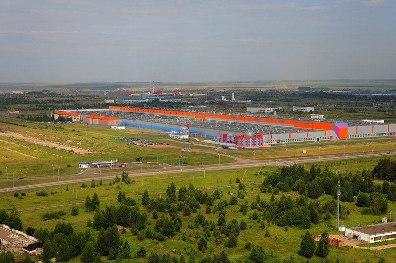 Действующие резиденты:  1. Завод «Форд Соллерс Елабуга» Алабуга, Особая экономическая зона, фоторепортаж