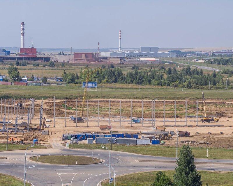 Сейчас строятся: 1. Август-Алабуга Алабуга, Особая экономическая зона, фоторепортаж
